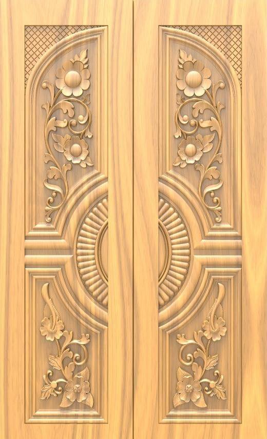 Wood Main Double Door Designs For Houses