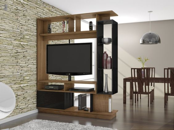 Foto principal de estante home theater versus divisor de for Mueble separador de ambientes