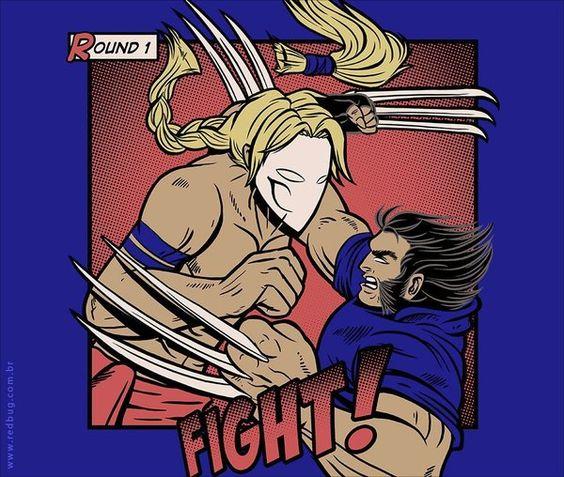 Camiseta Fight