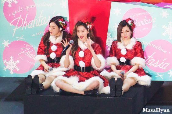 Tiffany, Seohyun and Sunny
