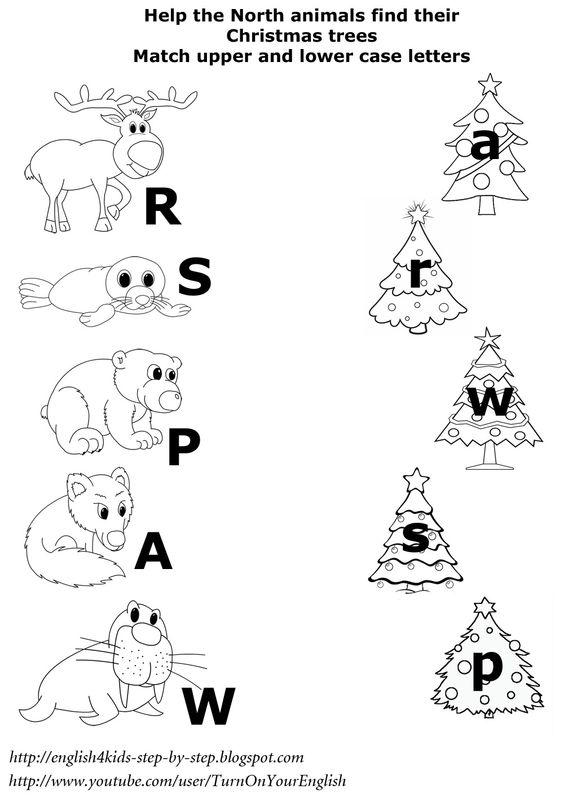 Number Names Worksheets : upper and lowercase letters worksheet ...