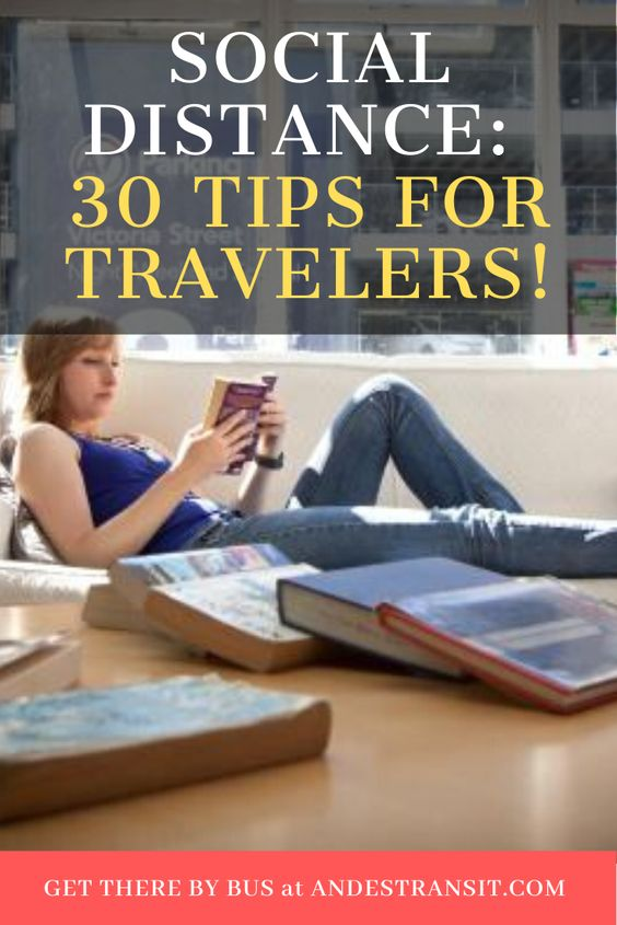 30 tips for travelers for social distance