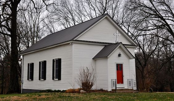 White Chapel in Montgomery County, Tennessee.