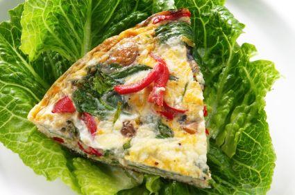 Veggie Egg White Frittata: