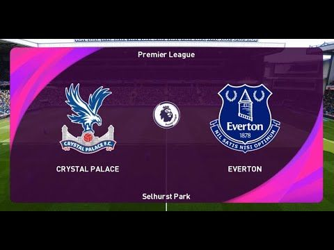 Crystal Palace Vs Everton Premier League 2020 Extended Highlights Al In 2020 Crystal Palace Premier League Everton