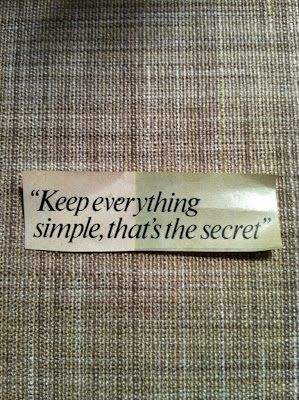 Simple: Keep It Simple, Simple Secret, Simple That S, Wisdom Quotes, So True, Thought, Simple Quotes, The Secret, Simplicity Quotes