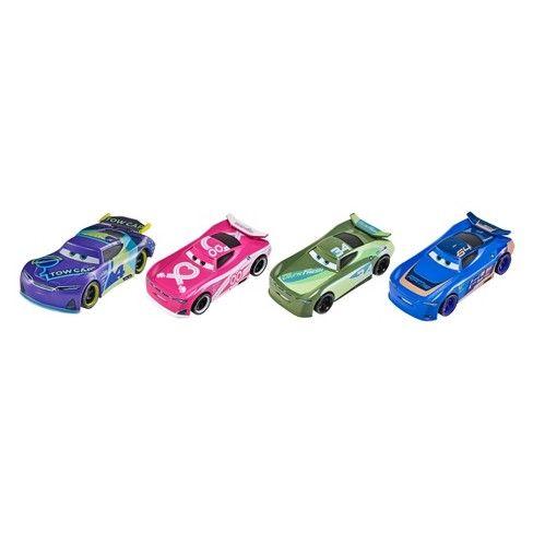 Disney Pixar Cars 3 Next Gen Racers Die Cast Vehicle 4 Pk Cars May Vary Target Disney Pixar Cars Diecast Cars Pixar Cars
