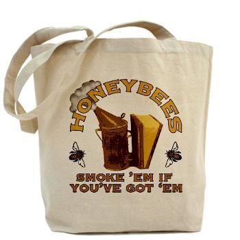Honeybees Tote Bag