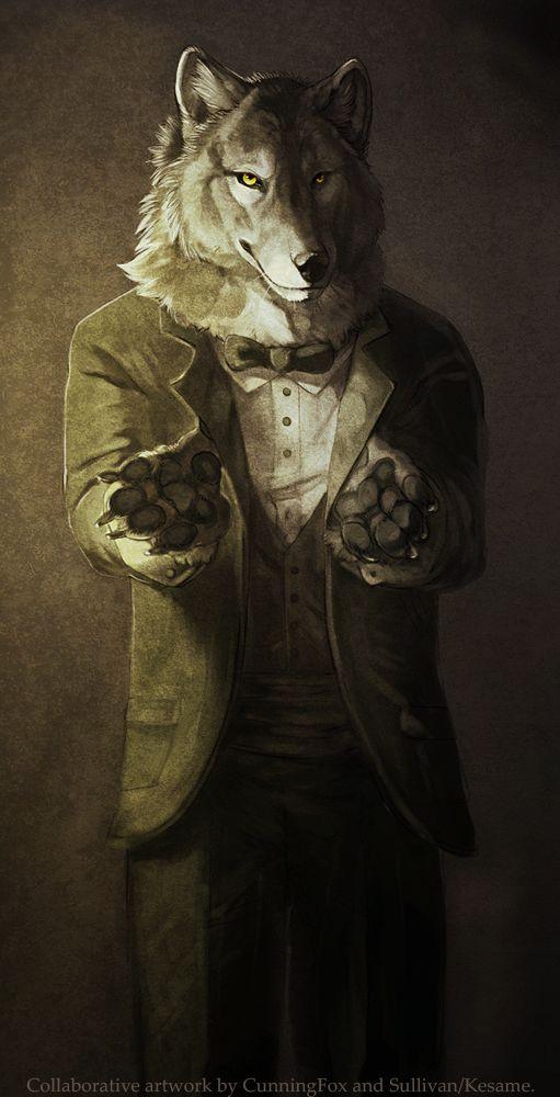 おしゃれでかっこいい伯爵のような犬の壁紙