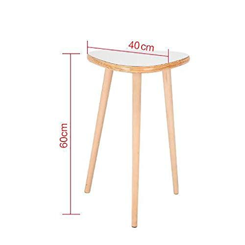 Solid Wood Foot Tea Table Sofa Side Small Round Table Nordic Mini Round Table Corner Coffee Table Size 40cm Coffee Table Size Tea Table Coffee Table