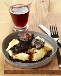 Tom Colicchio's Braised Short Ribs-I rarely make anything with red meat but this I might have to try.