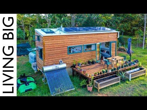This Tiny House Is Off Grid Perfection Off Grid Tiny House