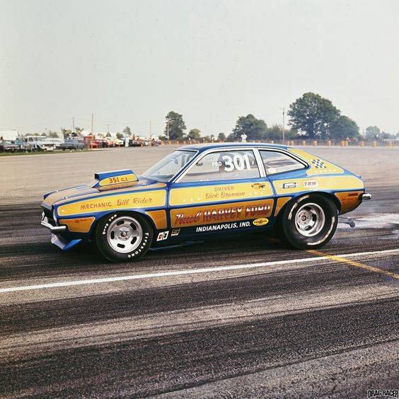 Ford Pinto Sedans And Ford: Drag Cars, Ford Pinto And Mustangs On Pinterest