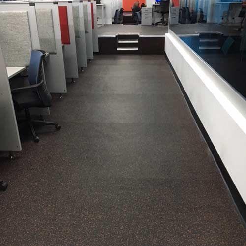 Rubber Floor Tile 1 4 Inch 20 Color Geneva Tile Rubber Floor Tiles Rubber Flooring Gym Flooring Rubber