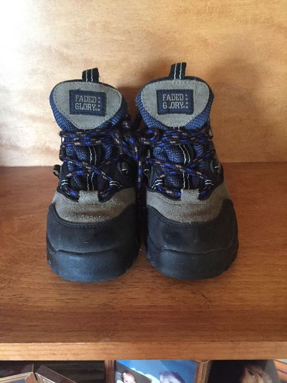 Details about Faded Glory Boys / Toddler Boots Size 9 EUC