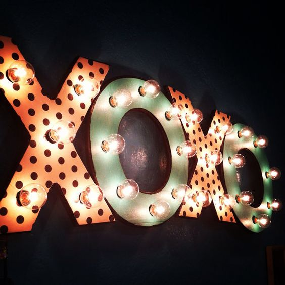 Custom Marquee Light by HecksRevival on Etsy, $125.00 Really cool for a game room or theatre room: