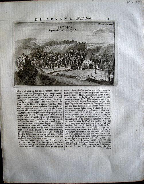 "Tournefort, Joseph Pitton de. ""Teflis. Capital de Georgia. """