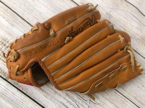 Rawlings Baseball Glove Youth Rbg118 Leather Yount Deep Well Hinged Pad 10 5 034 Rawlings Baseball Baseball Glove Rawlings