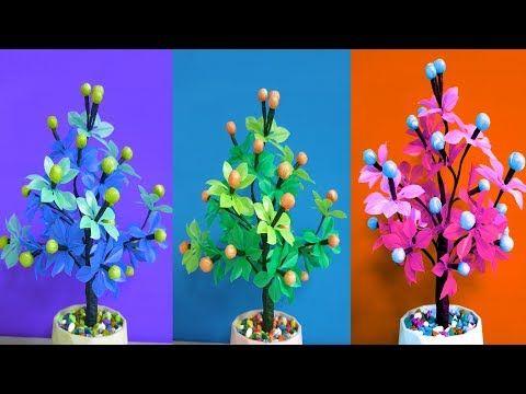 Mengagumkan Cara Membuat Pohon Hias Dari Plastik The Room