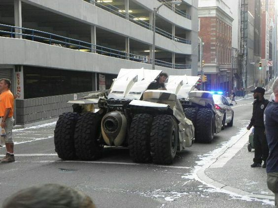 Dark Knight Rises filming in Pittsburgh