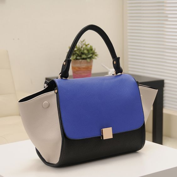 Fashion 2013 trapeze high quality big ears bag smiley bag one shoulder women's handbag US $33.90