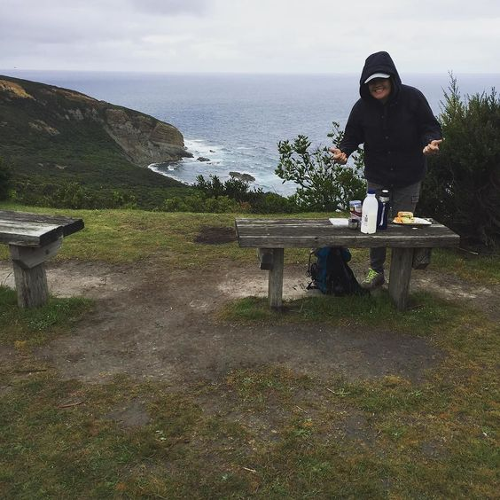 Not a bad spot for lunch! #holidays #greatoceanroad #moonlighthead by k.j.cooke