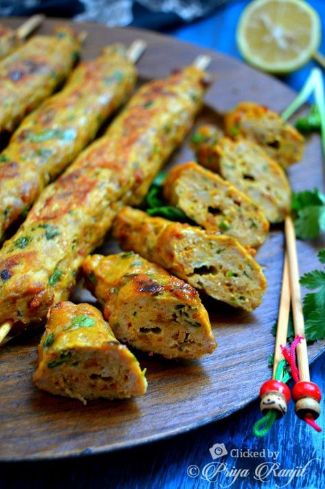 Chicken Kebab Recipe Easy Chicken Kabab Recipe Chicken Kebab Recipe Kebab Recipes Minced Chicken Recipes