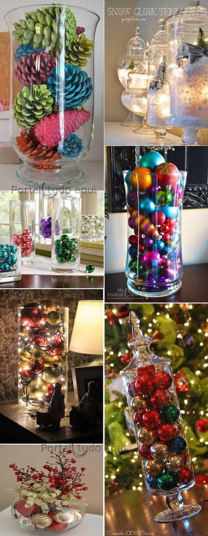 decoracao-criativa-barata-para-natal-ou-festas-ano-novo-com-bolas-vidro: