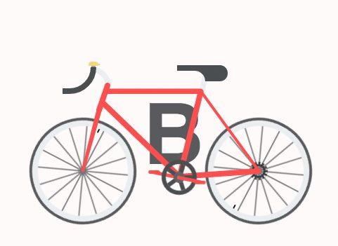 Awesome CSS/HTML animated alphabet by Alex Bergin From Print To