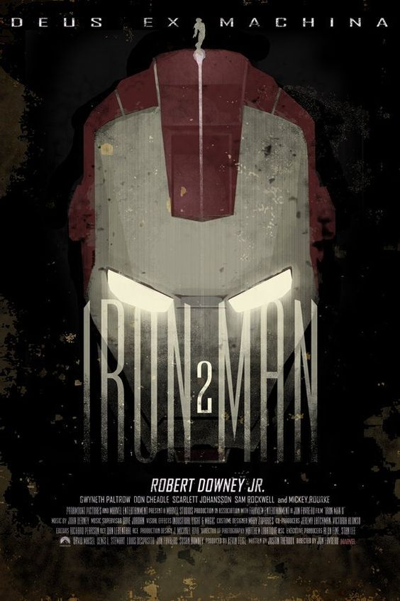 "Iron Man (from ""Creative & Alternative Marvel Comic Movie Posters"") | Via: Downgraf (#ironman"