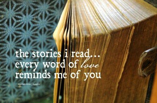 Ja, das ist so sehr wahr. jede Zeile von jedem Buch, jedem Vers über jedes Liebeslied... Sie alle sprechen von euch mit mir, mein Geliebter. Ich liebe dich ♥♡♥