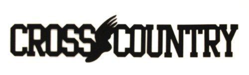 Decorative Metal Word Crosscountry  Price : $22.00 http://www.expressionsokoboji.com/Decorative-Metal-Word-Crosscountry/dp/B00BUU84M0