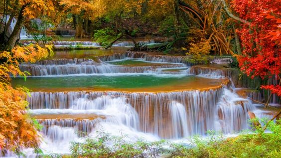 Thailand Autumn Kanchanaburi
