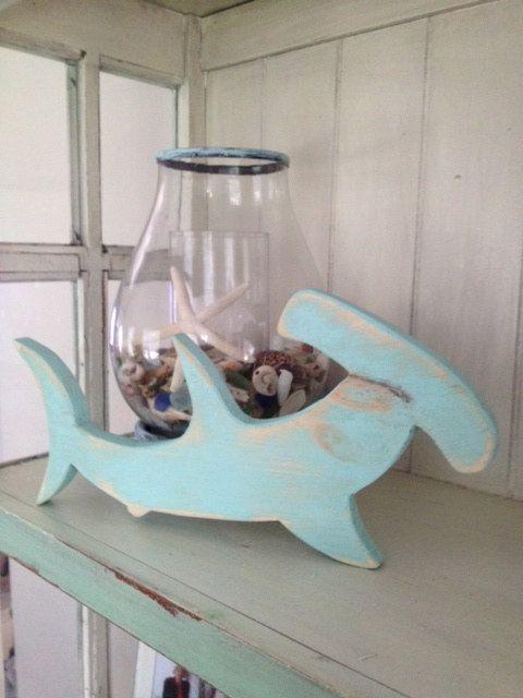 Shark Decor For Coastal Living Beach House