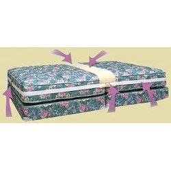 Create a King Bed - Two Twin Beds Convert To King Size - StacksAndStacks.com