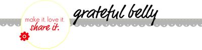 Grateful Belly: My Recipage
