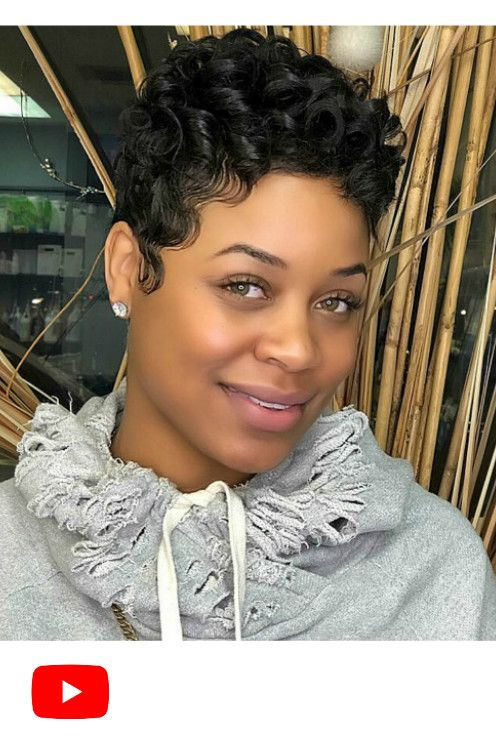 Cute short curly wigs for black women lace