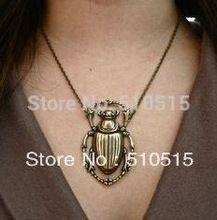 Fashion Steampunk Beetle Scarab Pendant Necklace(China (Mainland))