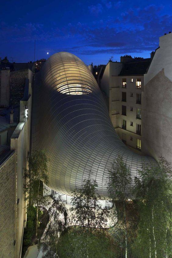 Eröffnung der Fondation Pathe in Paris / Renzo Pianos Raupe - Architektur und Architekten - News / Meldungen / Nachrichten - BauNetz.de