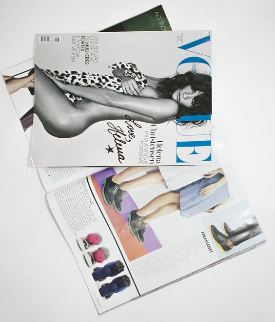 What an honor 😍 A huge thanks to Vogue Portugal for featuring Freakloset in this September issue! On stands now! You can find these styles on www.freakloset.com #vogue #septemberissue #freakloset #customisedshoes
