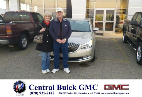 https://flic.kr/p/D2CHMs | Happy Anniversary to Carolyn on your #Buick #LaCrosse from Ronnie Nichols at Central Buick GMC! | deliverymaxx.com/DealerReviews.aspx?DealerCode=GHWO