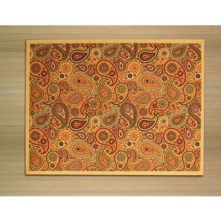 Amazon.com: EORC OS910BG Euro Home Rug, 8.2 by 9.10-Feet, Beige: Furniture & Decor