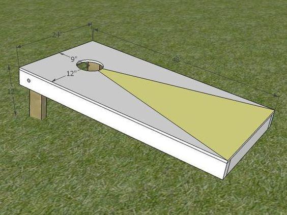 How to Build a Regulation Cornhole Set : Home Improvement : DIY Network