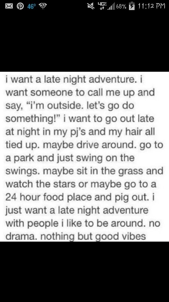 Yes please! But only with someone very special:)