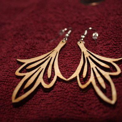 #OpenSky                  #Women                    #Wood #Earrings #Laser #Nouveau                     Wood Earrings - Laser Cut - Art Nouveau                                       http://www.seapai.com/product.aspx?PID=5812133