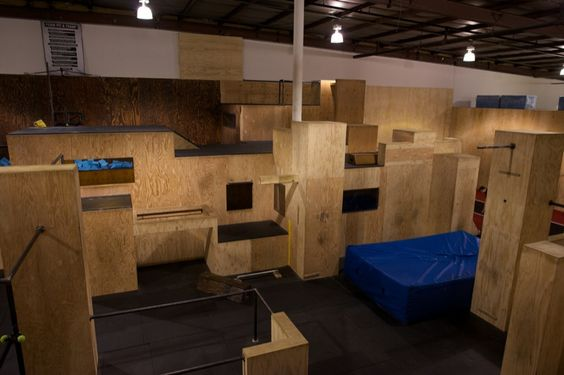 Parkour Gym Walls Ledges Vaults Bars Mats Run Apexmovement