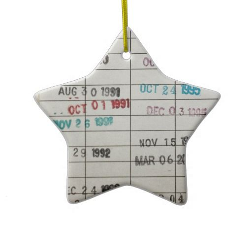 12 Holiday Ornaments For Book Lovers And Their Bookish Trees |Library Book Ornaments