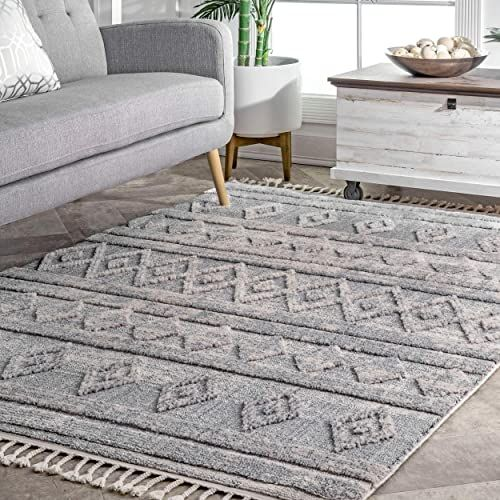New Nuloom Devonte Diamond Area Rug 7 10 X 10 10 Grey Home Decor 309 59 Favortopstyle Offers On Top Store In 2020 Grey Area Rug Rugs Grey Rugs