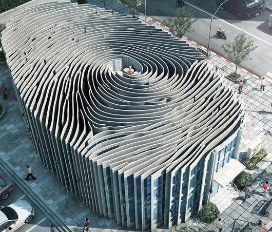 FingerPrint Building, awesome!