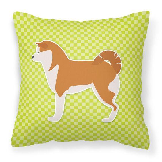 Akita Indoor/Outdoor Throw Pillow